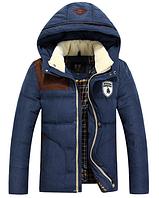 Зимняя мужская куртка с капюшоном. Модель 6136