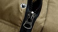 Зимняя мужская куртка с капюшоном. Модель 6136, фото 10