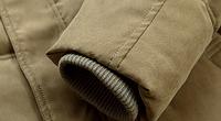 Зимняя мужская куртка с капюшоном. Модель 6136, фото 7