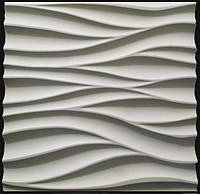 Гипсовые 3D панели настенная Амбровая вуаль 50х50