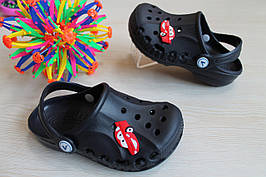 Синие кроксы оптом детская летняя обувь тм Виталия Crocs ростовка 20-35