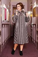 Пальто зимнее женское с мехом в 5ти 313