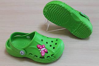Детские кроксы оптом для девочки Vitaliya размер 20-35, фото 3