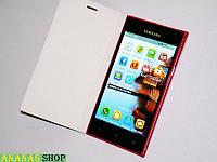 Samsung Caimi S9 Красный - 5''+2 Sim+8 ядер+Чехол-книжка 2 батареи