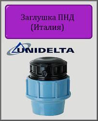 Заглушка Unidelta 25 ПНД