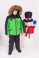 Зимний комплект для мальчика КМР-1, р-ры 116,122,128,134,140,146