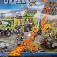 """Конструктор для мальчиков 10641 """"База исследователей вулканов"""""""
