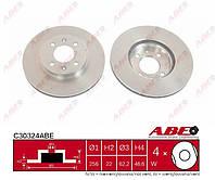 Диск тормозной передний Hyundai Accent III 2005-->2010 ABE (Польша) C30324ABE