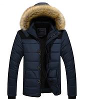 Теплая мужская зимняя куртка. Модель 6138
