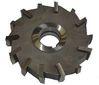 Фреза дисковая 3-х сторонняя Ф100х25 Р6М5 прямой зуб
