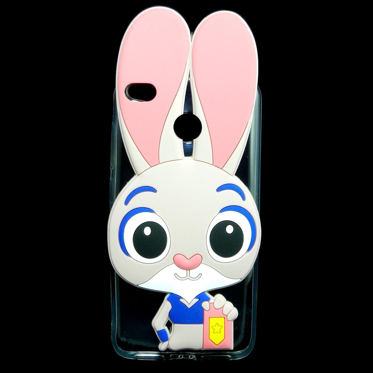 Чехол накладка для Xiaomi Redmi 4X силиконовый Зверополис, Крольчиха Джуди Хоппс