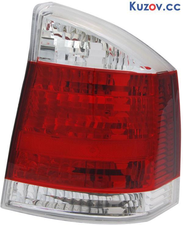 Задний фонарь Opel Vectra C '02-08 правый (Depo) бело-красный 1222699