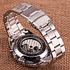 Механические часы с автоподзаводом Forsining (black) - гарантия 12 месяцев, фото 10