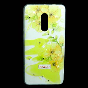 Чехол накладка для Xiaomi Redmi Note 4X силиконовый Diamond Cath Kidston, Sun Flowers