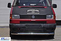 Кенгурятник  VW T4  (90-03) - ус одинарный , фото 1