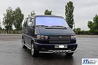 Кенгурятник  VW T4  (90-03) - ус двойной, фото 1