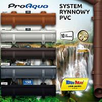 ProAqua . PVC водосточная система отвода дождевой воды .
