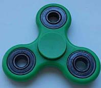 Спиннер игрушка антистресс, спинер с 4 подшипниками классика зелёный