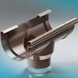 ProAqua 125 желоб 8017 PVC водосточная система отвода дождевой воды., фото 9