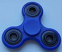Спиннер игрушка антистресс, спинер с 4 подшипниками классика синий