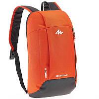 Стильный легкий рюкзак красный, серый, желтый, оранжевый, синий, бирюза, черный