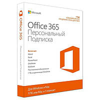 Microsoft  Office365 Personal Russian Sub 1YR Medialess P2 (QQ2-00548)