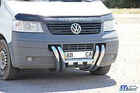 Кенгурятник  VW T5  (03-09) - ус двойной, фото 1