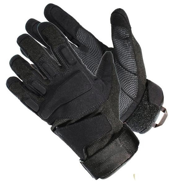 """Тактические перчатки полнопалые на липучке """"Blackhawk"""""""