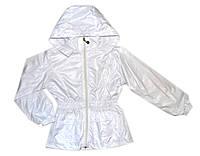 Куртка плащевка для девочки
