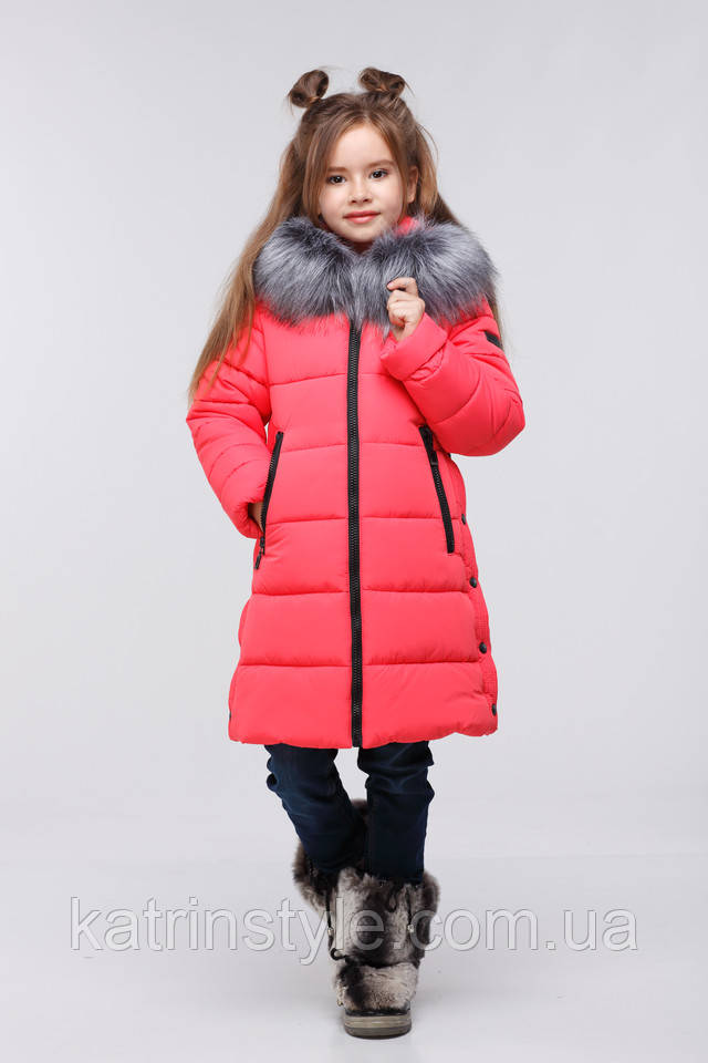 фотография зимнее теплое детское пальто куртка