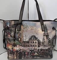Брендовая сумка из качественного кожзаменителя с роскошным дизайном