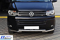 Кенгурятник  VW T5  (09-16) - ус двойной, фото 1