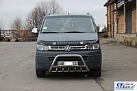 Защита переднего бампера (кенгурятник)  VW T5  (09-16), фото 1
