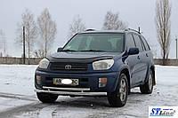 Кенгурятник  Toyota Rav 4 XA 40 (13-16) - ус двойной, фото 1