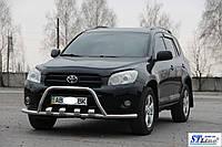 Кенгурятник с усом Toyota Rav 4 XA 30 (05-10), фото 1