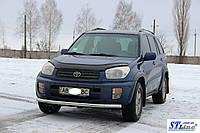 Кенгурятник  Toyota Rav 4 XA 30 (10-12) - ус одинарный , фото 1