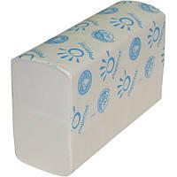 Бумажные полотенца листовые, целлюлозные 3 слоя.406312.