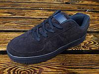 Замшевые тредовые кроссовки New model