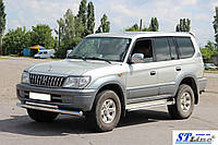 Кенгурятник  Toyota Land Cruiser Prado 80 (90-97) - ус двойной