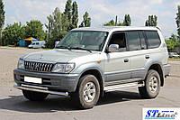 Кенгурятник  Toyota Land Cruiser Prado 80 (90-97) - ус двойной, фото 1