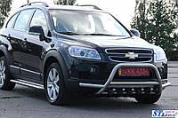 Защита переднего бампера (кенгурятник)  Toyota Land Cruiser Prado 150 (09+)
