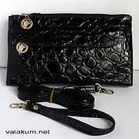 Женская сумочка-клатч 0564-1. Черный цвет.