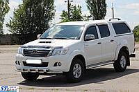 Кенгурятник  Toyota Toyota Hilux (04-15) - ус двойной, фото 1