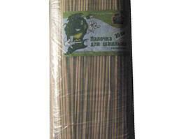 """Бамбуковая палочка для шашлыка, 20 см,  """"Супер торба"""", 100 шт\пач"""