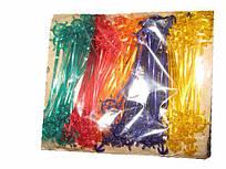 "Мешалка пластиковая для коктейля ""Штурвал"" 19.0см(100шт)  (1 пач)"