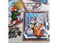 Салфетка с рисунком Luxy  Зимние забавы