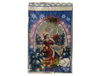 Упаковка новогодняя для сладостей, (25*40) №20 Снегурочка и белки, 100 шт\пач