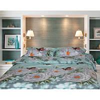 Комплект постельного белья двуспальный ТМ Сладкий сон дизайн камелия