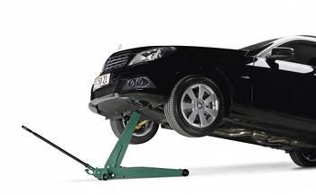 Домкрат подкатной автомобильный с увеличенной высотой подъема, Compac 1,5T-HC