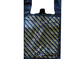 Пакет полиэтиленовый майка  Диагональ (37х60) №2, 100шт\уп